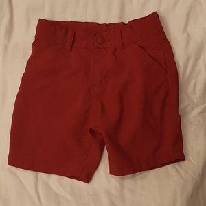 Wrangler toddler boy 4T shorts adjustable straps